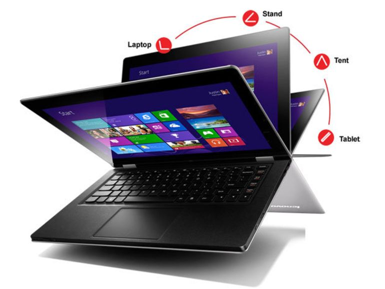 Windows 8 : Lenovo dévoile ses ultrabooks convertibles IdeaPad Yoga