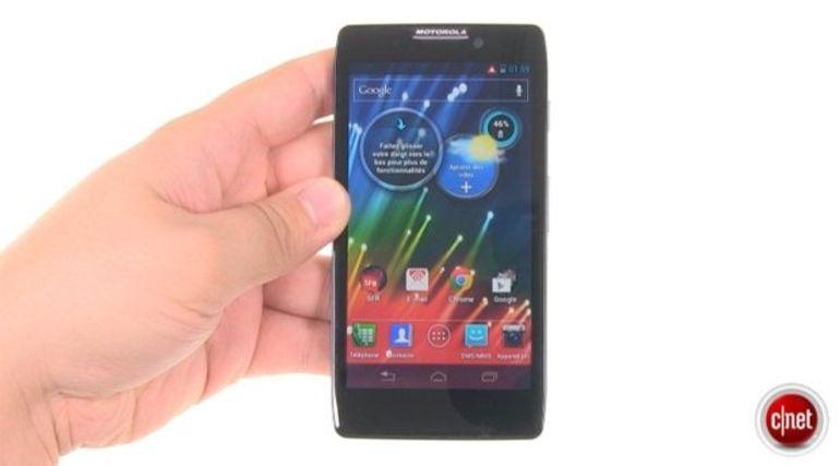 Démo du Motorola Razr HD