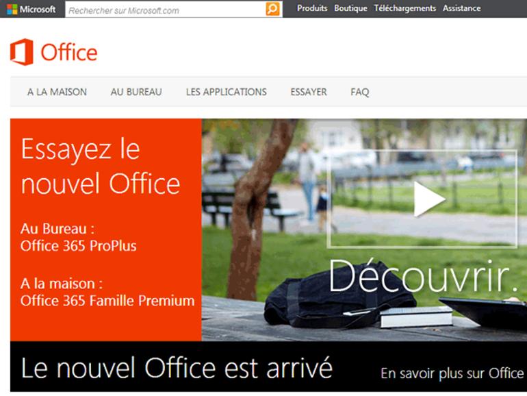 La version RTM de Microsoft Office 2013 est prête