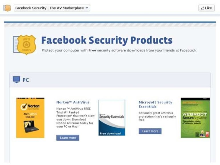 Facebook passe un accord avec 7 éditeurs d'antivirus pour lutter contre le phishing