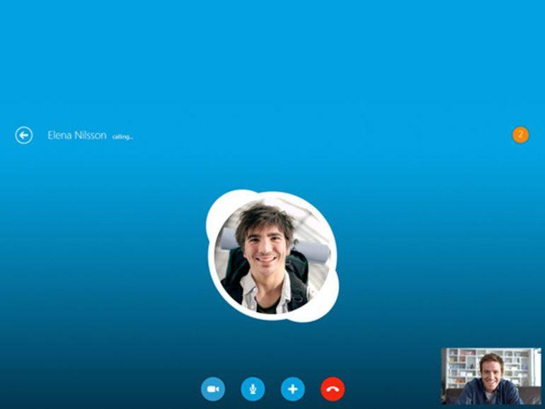 Skype s'adapte à Windows 8