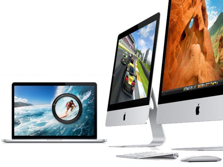 """Apple annonce un MacBook Pro 13"""" Retina et une nouvelle gamme d'iMac"""