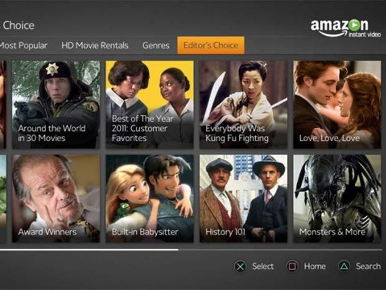 Une application Amazon Instant Video disponible pour Google TV