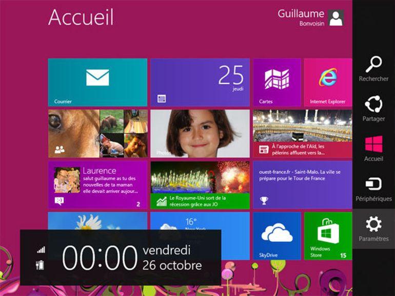 Microsoft présente Windows 8, le système pour PC et tablette tactile