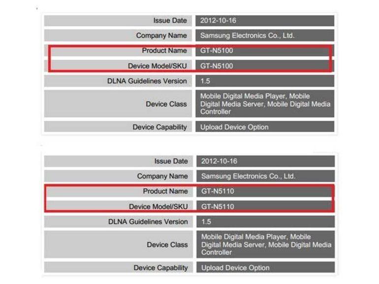 Samsung : une tablette Galaxy Note 7 pouces en préparation ?