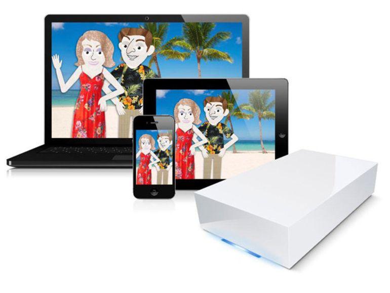 LaCie CloudBox, une autre solution de partage à distance