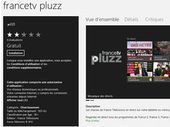 France TV : l'application Pluzz Windows 8 pour regarder la TV en direct