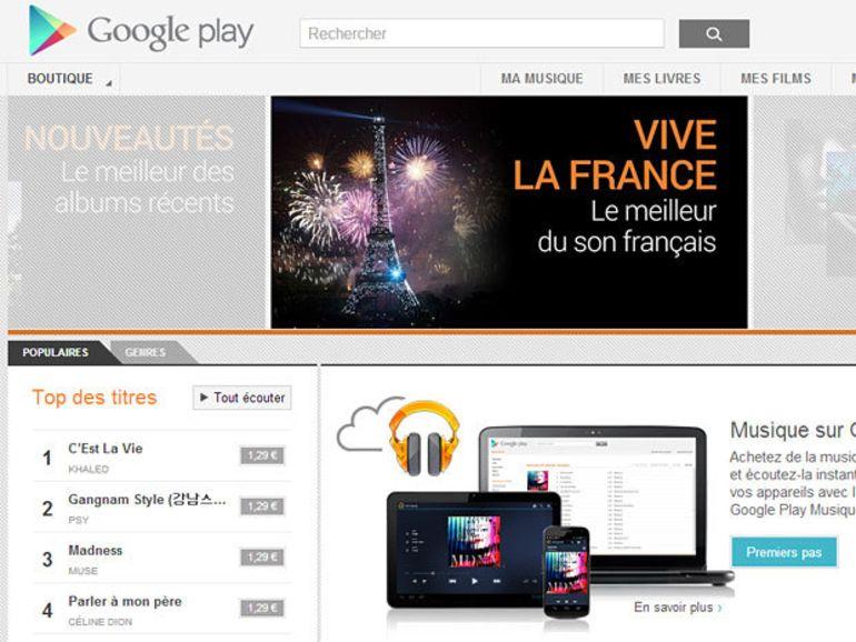 Google Music débarque en France en même temps que la tablette Nexus 10