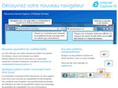 Sortie de la préversion d'Internet Explorer 10 pour Windows 7