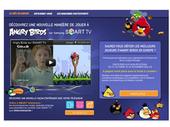 Smart TV : devenez Champion d'Europe d'Angry Birds !