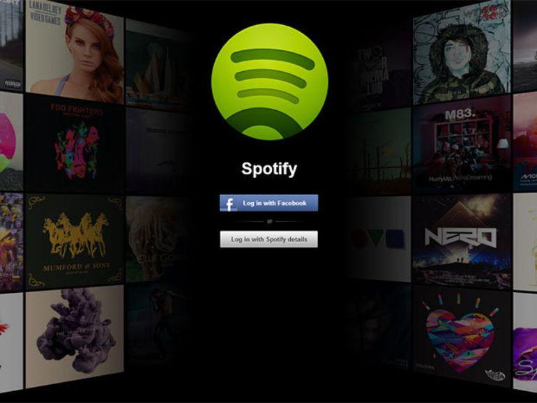Spotify lance la bêta d'une version Web de son service musical