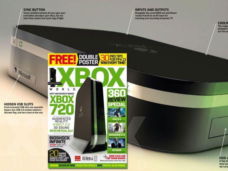 Du Blu-ray et Kinect 2.0 sur la Xbox 720 ?