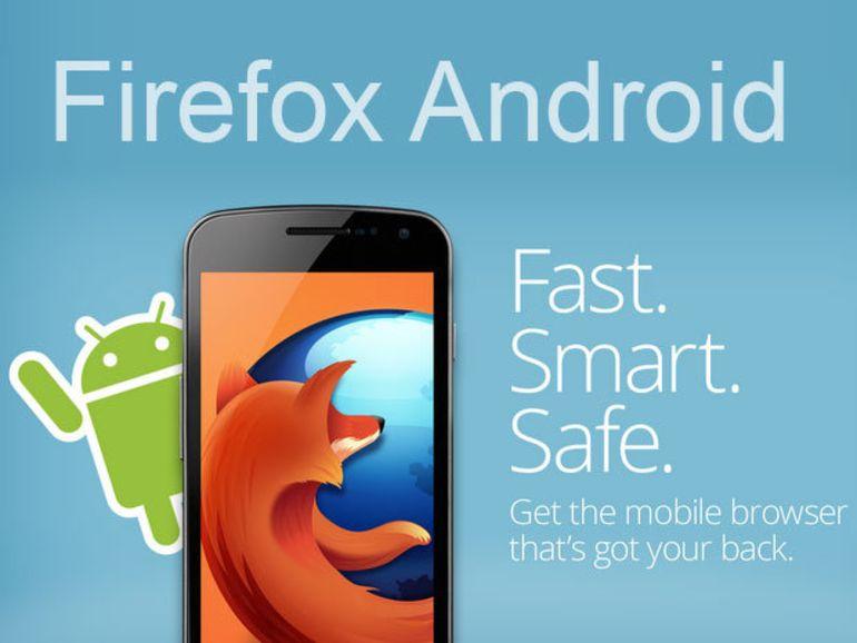 Firefox pour Android s'ouvre aux anciens smartphones en version 17