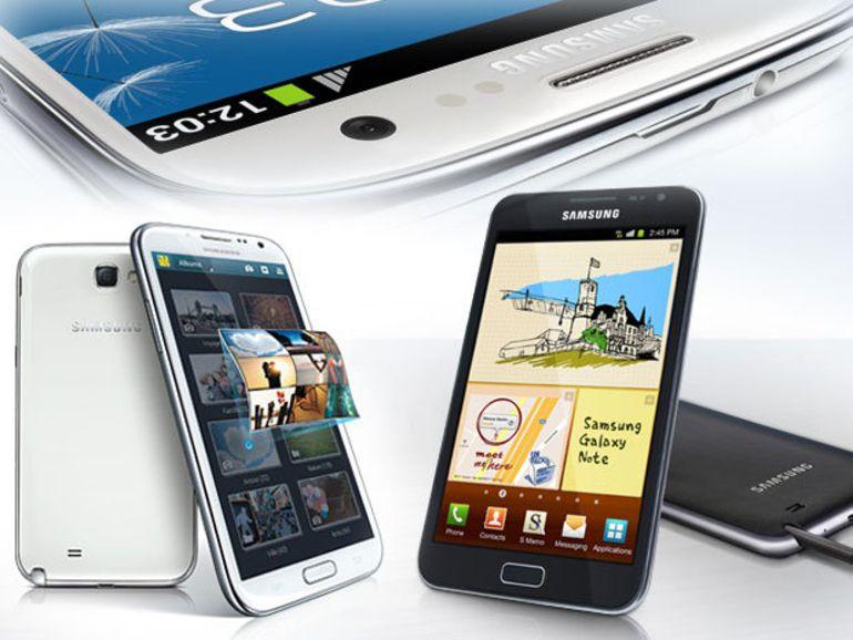 Samsung : plus de 60M de smartphones prévus pour le dernier trimestre 2012