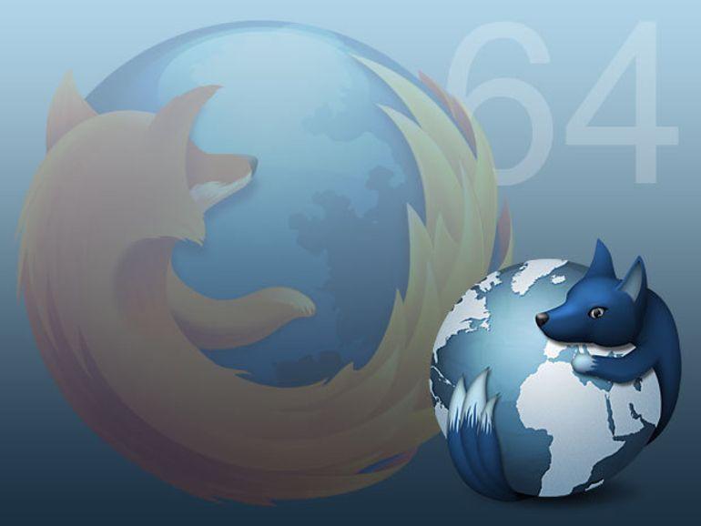 Mozilla abandonne le développement de Firefox en 64 bits