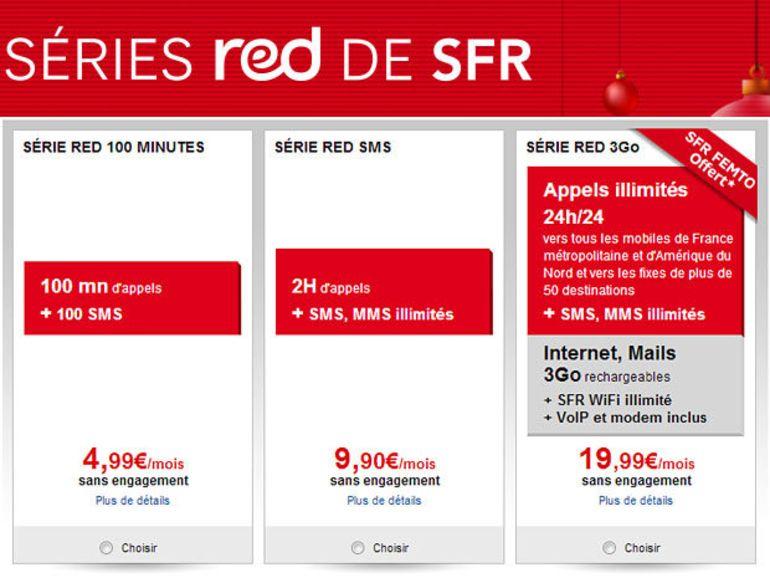 SFR : un forfait 100/100 pour concurrencer le 60/60 Free Mobile
