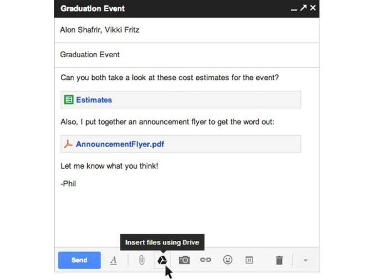 Gmail autorise les pièces jointes jusqu'à 10 Go
