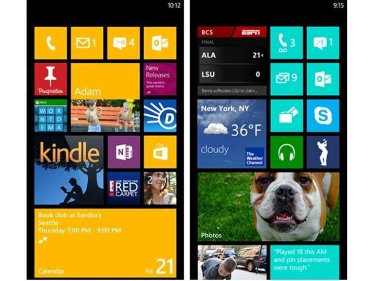 Windows Phone 7.8 : pas avant début 2013