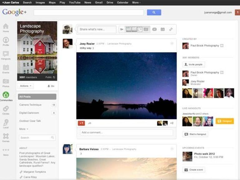 Google+ Communautés : un module pour se regrouper autour d'un centre d'intérêt