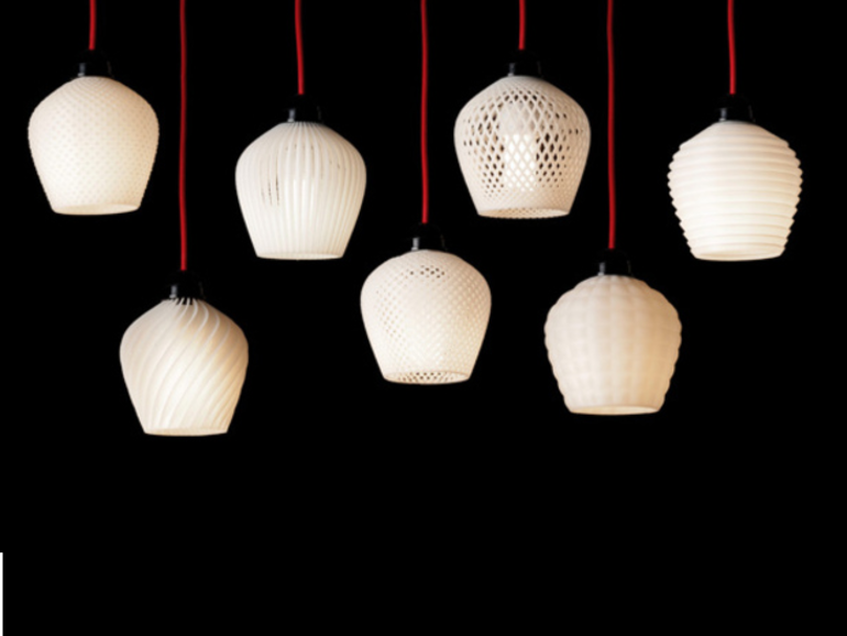 L'impression 3D pour fabriquer des lampes