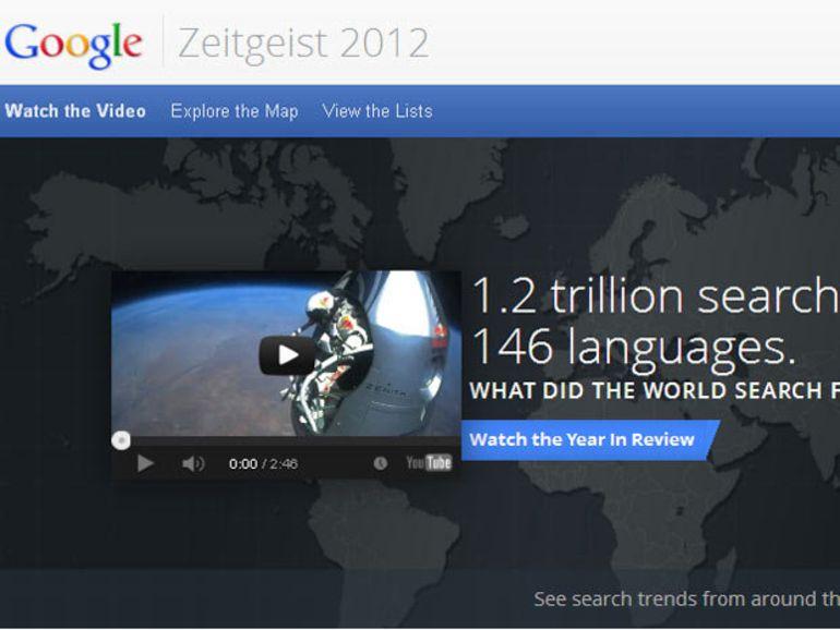 Google Zeitgeist 2012 : Free Mobile et iPad dans le top des recherches