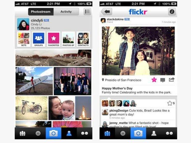 Flickr 2.0 pour iPhone ajoute 16 filtres photo comme Instagram
