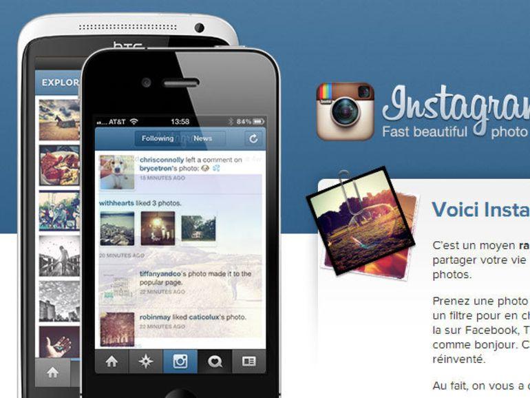 Instagram n'a aucune intention de vendre vos photos