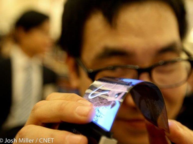 CES 2013 : deux écrans flexibles pour Samsung