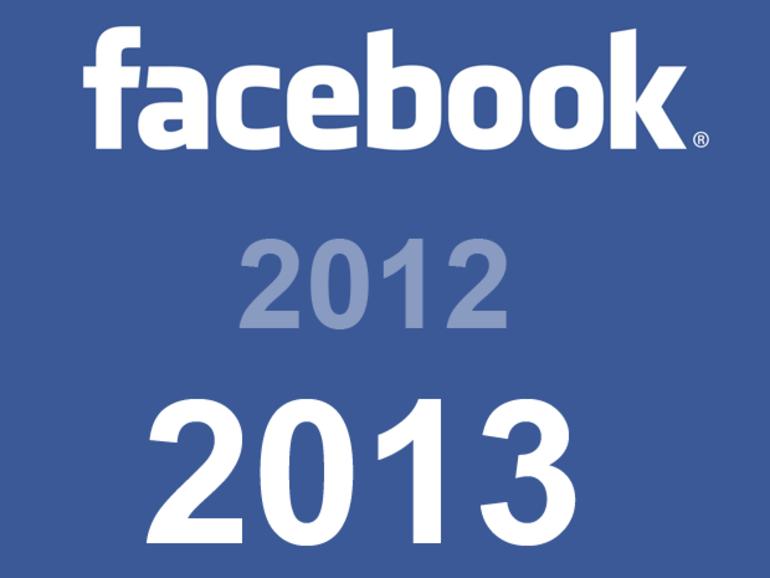 Facebook : à quoi s'attendre en 2013 ?