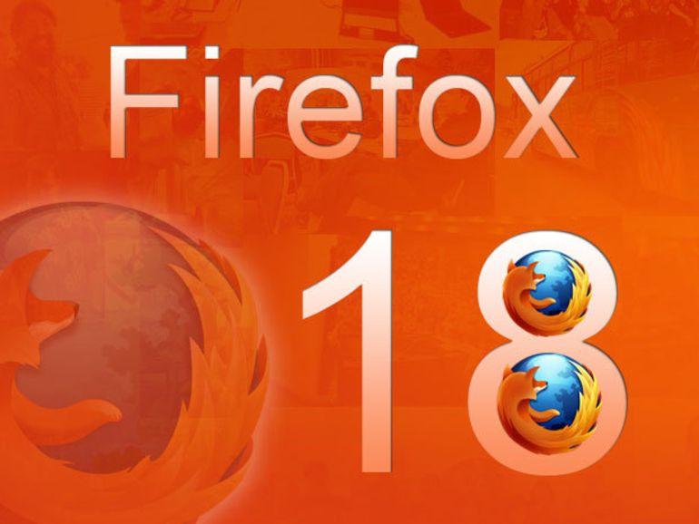Firefox 18 à télécharger : support Retina, tactile et performances