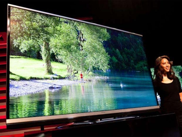 CES 2013 : nouveaux téléviseurs LED Sharp Aquos en 60, 70 et 80 pouces