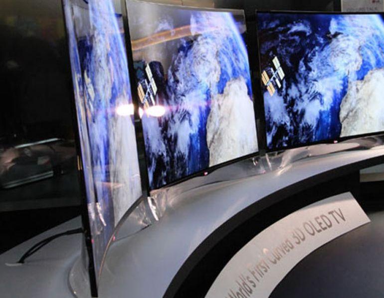 CES 2013 : LG et Samsung courbent l'OLED