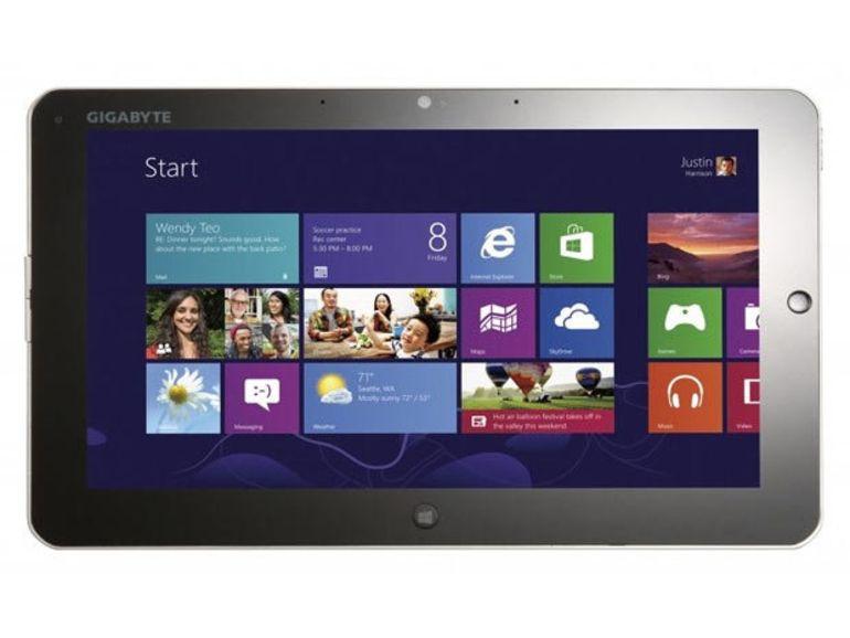 CES 2013 : Gigabyte se lance dans la tablette Windows 8
