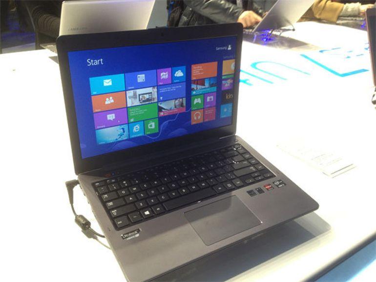 CES 2013 : Les ultrabook Series 5 de Samsung évoluent