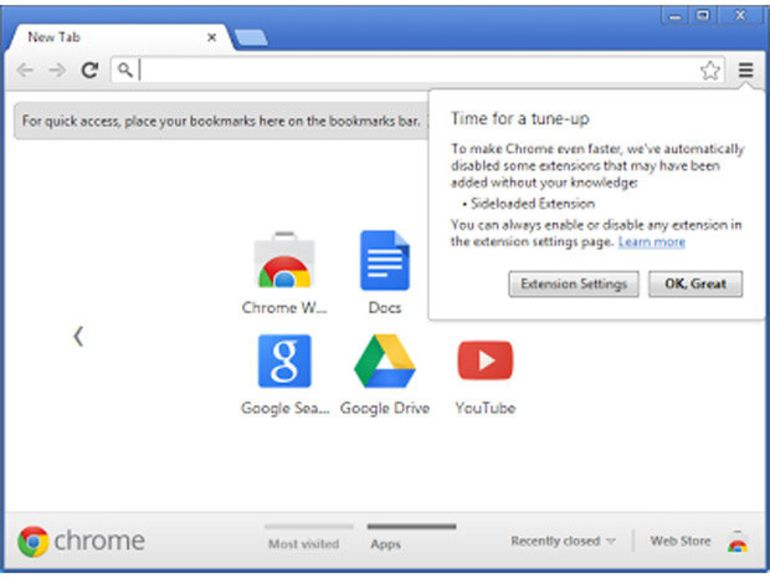 Chrome 25 : des fonctions de reconnaissance vocales au menu