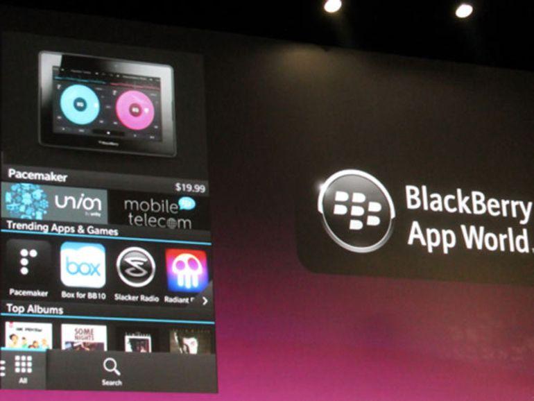 BlackBerry World : le prix des applications baisse de 10 centimes