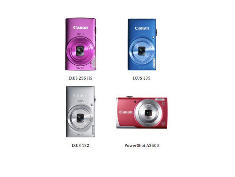 Ixus 255 HS, Ixus 135, Ixus 132 et PowerShot A2500 : 4 nouveaux APN compacts chez Canon