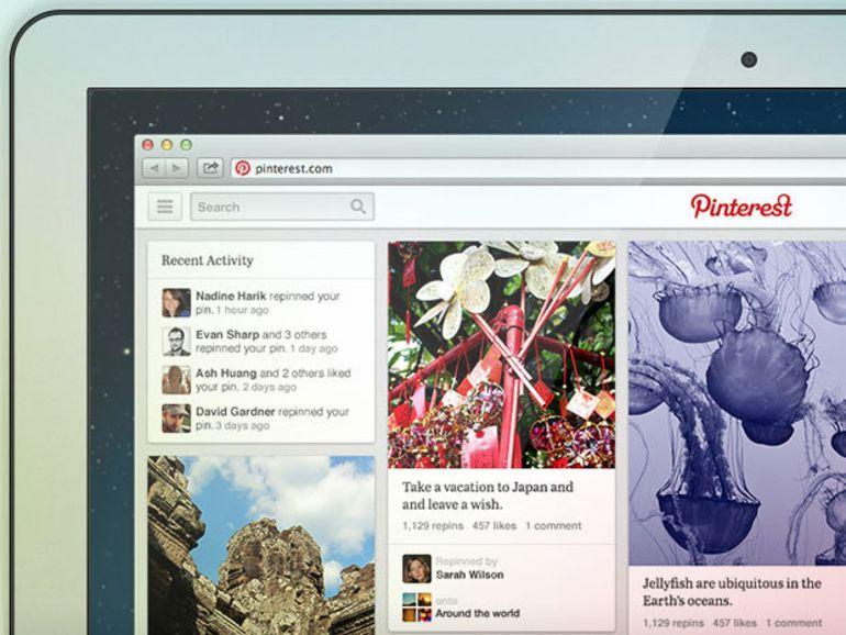 Pinterest teste sa nouvelle interface
