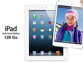 Apple met en vente l'iPad Retina en 128 Go