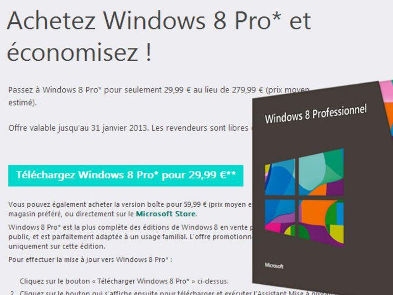 Windows 8 en promotion : plus que 48h, faut-il acheter ?
