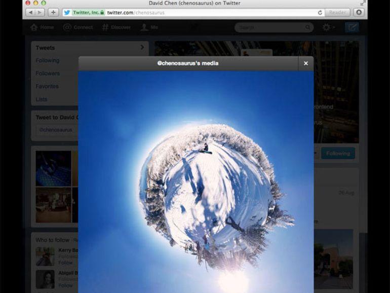 Twitter modifie l'affichage des photos et vidéos