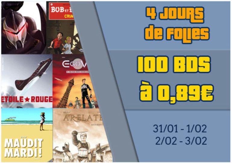 BdBuzz : 100 BDs numériques à 0,89 €  pendant le festival d'angoulême