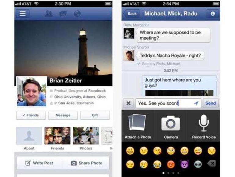 Facebook pour iOS introduit les messages vocaux dans l'application