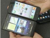 BlackBerry Z10, face à face avec l'iPhone 5 et le Galaxy S3 en vidéo