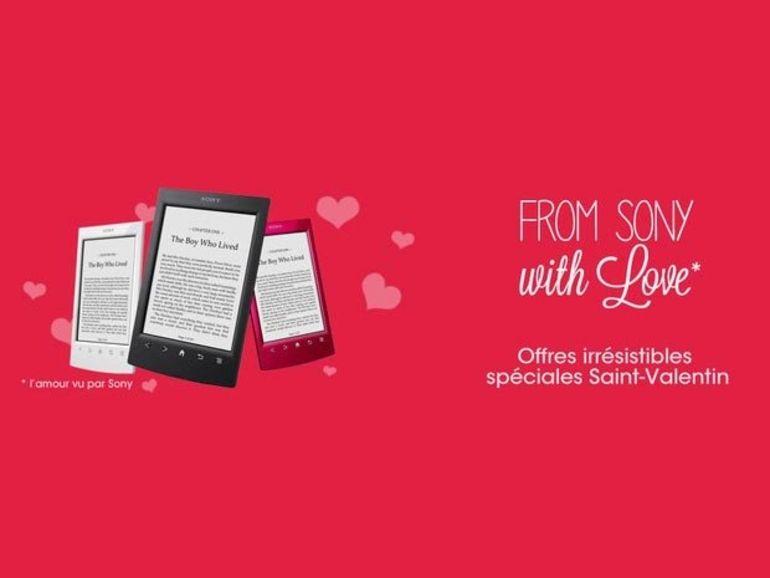 Sony Reader : une belle offre pour la Saint Valentin