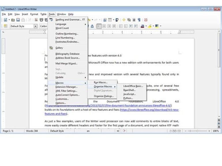 LibreOffice 4.0 est disponible