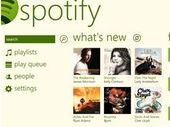 Spotify a son application Windows Phone 8