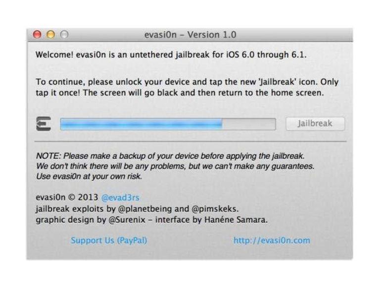 Jailbreak iOS6 Evasi0n : plus de 5 millions d'iPhone déverrouillés