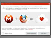 Mega sort une extension Firefox et s'explique sur la compatibilité