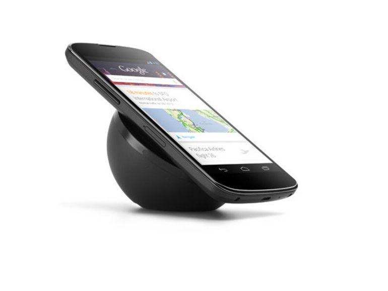 Nexus 4 : le chargeur sans fil à induction fait son apparition